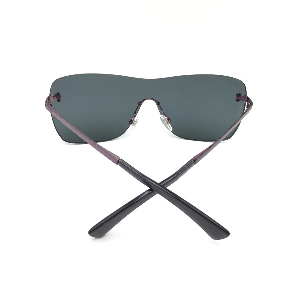 6ec4d380136 Chanel Airline Runway Crosshatch Shield Sunglasses 4215 467 C1 Image 11.  123456789101112