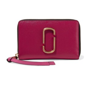 Marc Jacobs New W/O Tags Marc Jobs Snap Shot Wallet