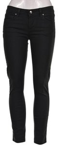 Paige Stretchy Cotton Denim Machine Washable Skinny Jeans-Dark Rinse