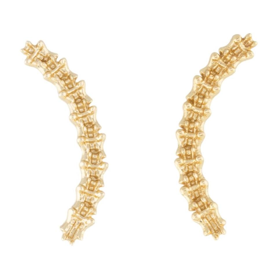 butterfly gold net plated a earrings fisher com jennifer pin porter