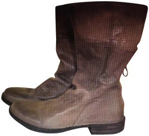 Fiorentini + Baker Taupe Gray Boots