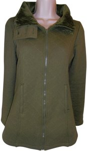 The North Face Jacket Quilted Furry Pea Coat