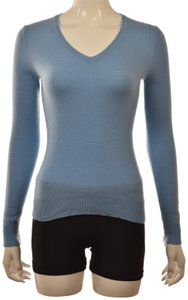Lord & Taylor V-neck Cashmere Dryclean Only Longsleeve Casual Sweater