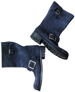 Jimmy Choo Navy Boots