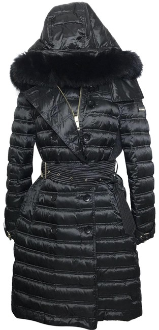 Item - Black Trim Puffer Coat Size 8 (M)