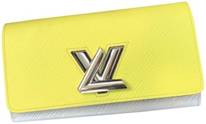 Louis Vuitton Louis Vuitton Epi leather twist wallet