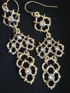 Alexis Bittar Tiered Crystal Chandelier Statement Earrings