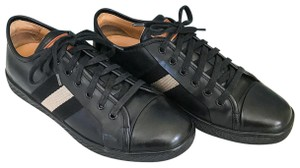 Bally Leather Lano Sneakers Black Athletic