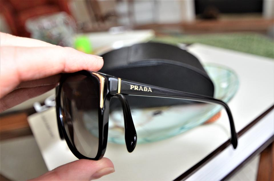 61788907597a Prada Prada Women s Gradient PR01OS-1AB3M1-55 Black Cat Eye Sunglasses  Image 11. 123456789101112
