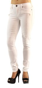 True Religion White Fashion Skinny Jeans-Coated
