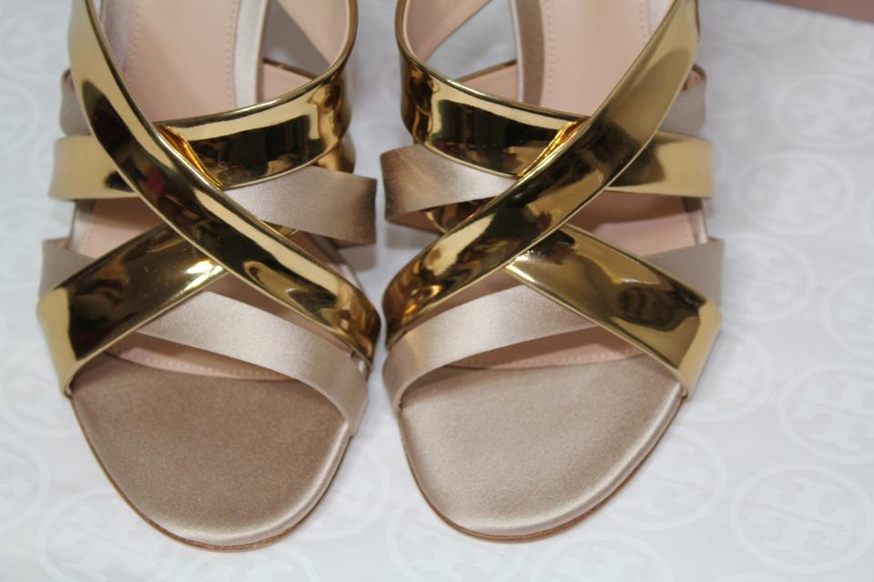 220d2d3beb5d Gianvito Rossi Summer Strappy Wedding Metallic gold Sandals Image 11.  123456789101112