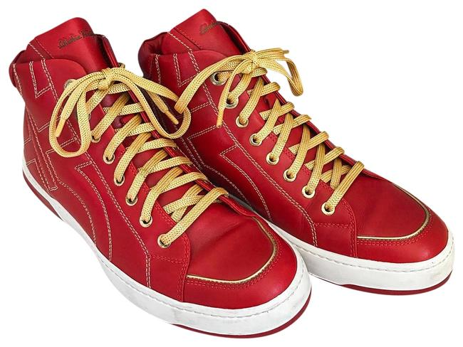 Item - Red Nicky High Top Sneakers Size US 7.5 Regular (M, B)
