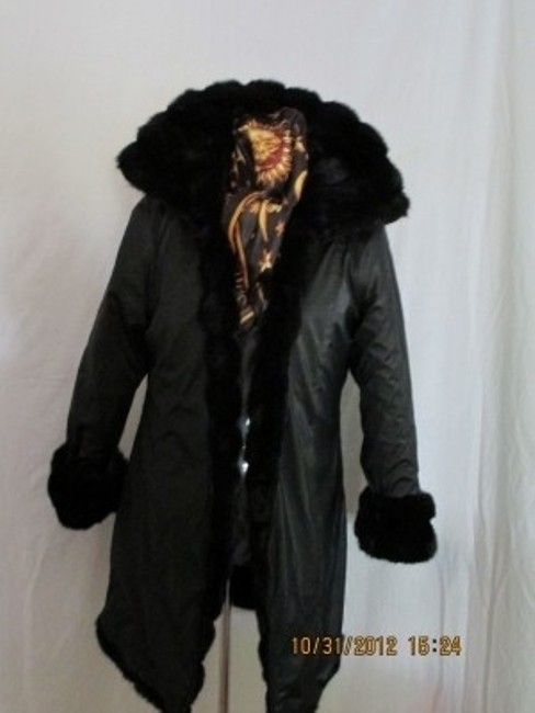 BB Dakota Winter Reversable Full Length Christmas Present Mothers Present Fur Coat