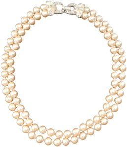 Carolee LUX Vintage Carolee Multi-strand Simulated Pearl Necklace