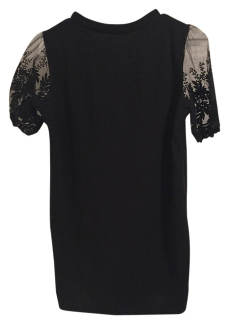 Preload https://img-static.tradesy.com/item/2311940/black-lace-sleeves-blouse-size-os-one-size-0-2-650-650.jpg