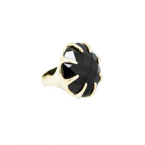 Ippolita Onyx and Gold Cocktail Ring