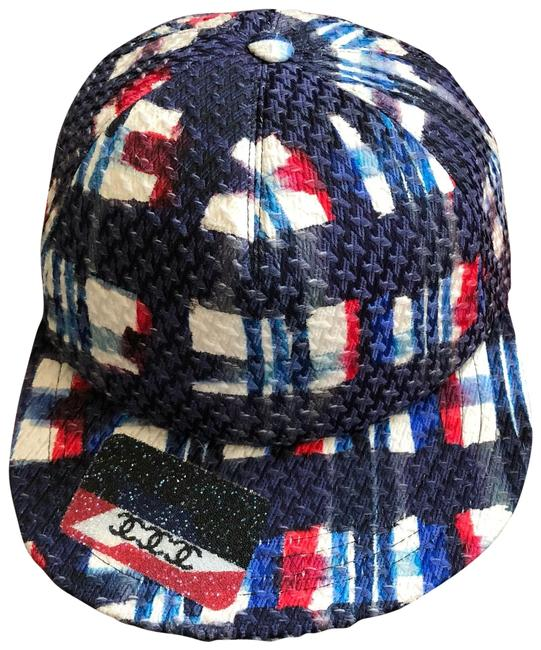 Item - Blue Tweed Baseball Hat