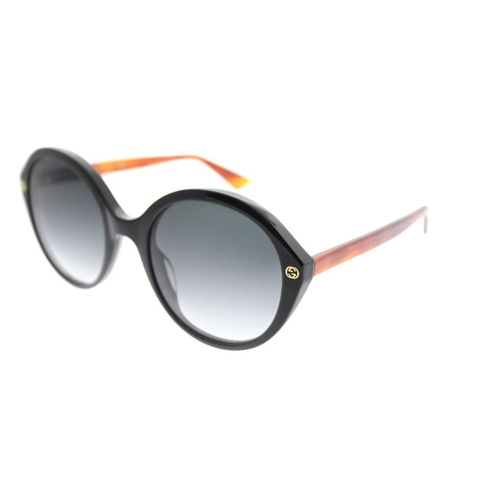 f62cc3760bc Gucci Black Brown Gg0023s 003 Frame Grey Gradient Lenses New ...