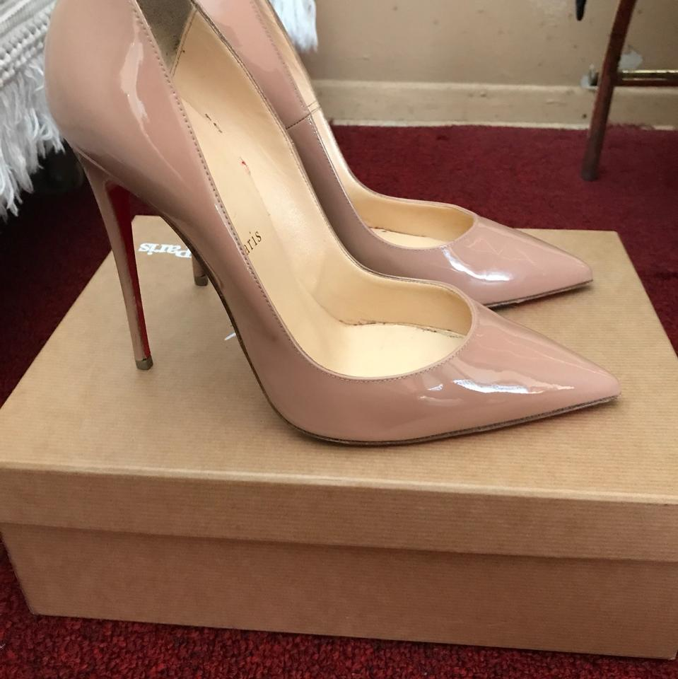 Nude Pumps So 120 Louboutin Kate Christian pqW0R1