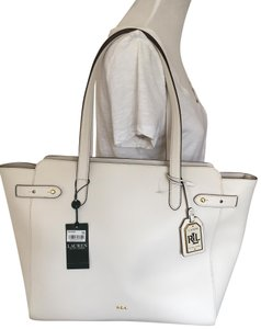 2758c030e7 White Lauren Ralph Lauren Totes - Up to 90% off at Tradesy
