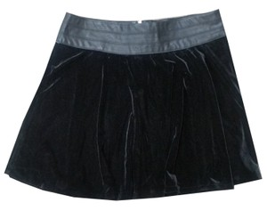 Tractr Jeans Skirt Black