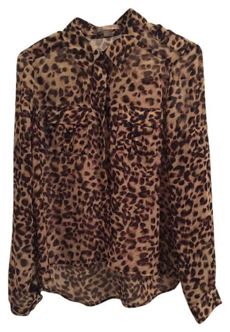 Preload https://item5.tradesy.com/images/forever-21-leopard-blouse-size-4-s-2312054-0-5.jpg?width=400&height=650
