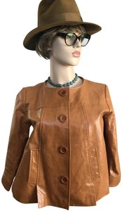 Newport News Tan Leather Jacket