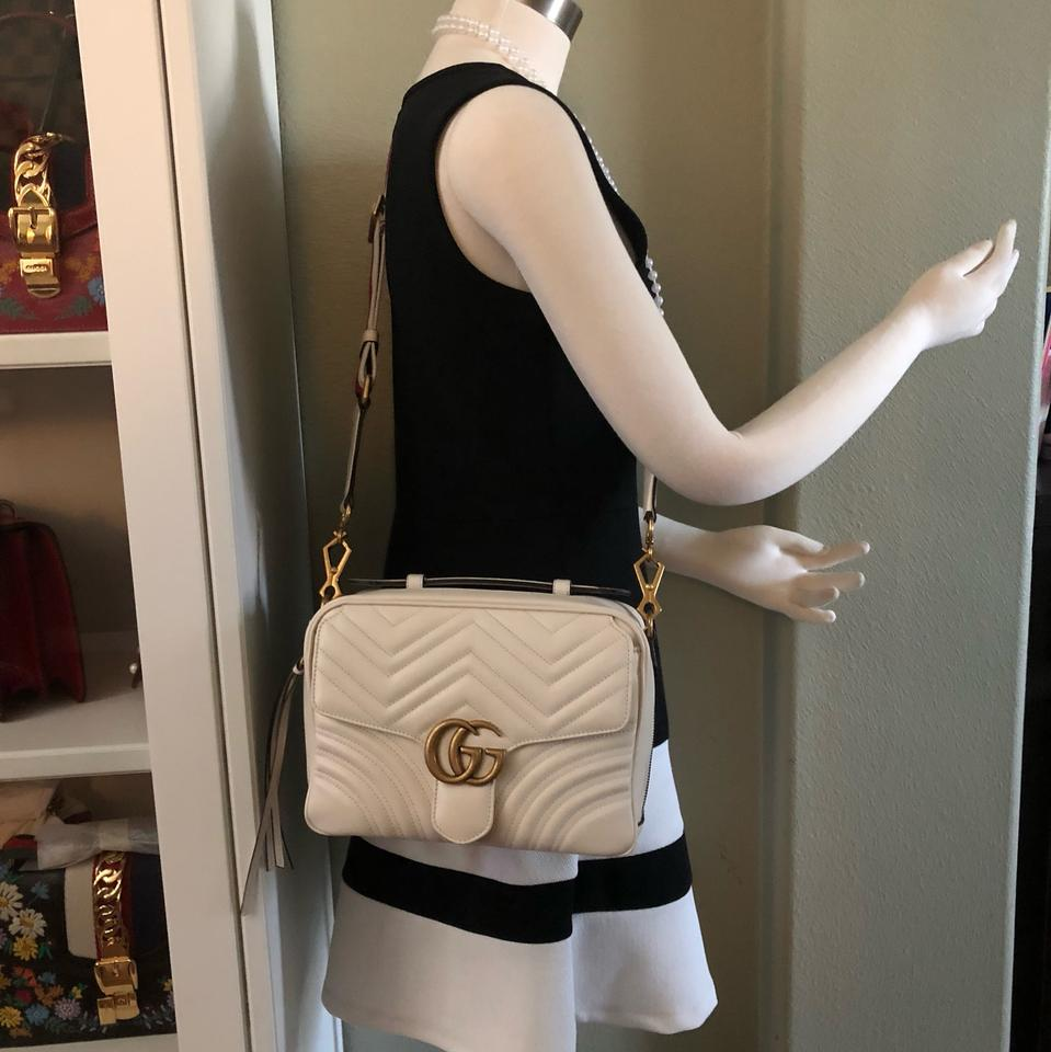 Gucci Marmont New Shoulder Top Handle Camera Web Strap
