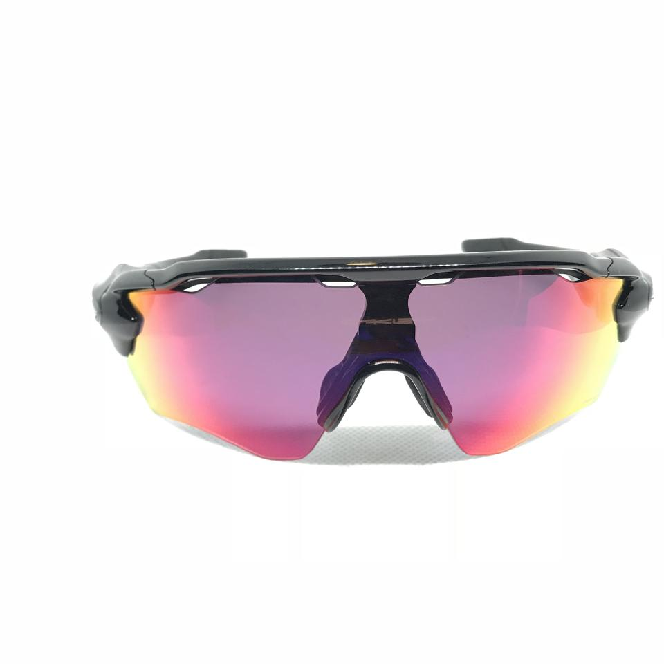 bb5f4046d3 Oakley RADAR PACE SHIELD PRIZM ROAD CLEAR Polished Black OO9333-01 Image 0  ...