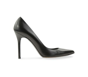 Stuart Weitzman Classic Leather Black Pumps