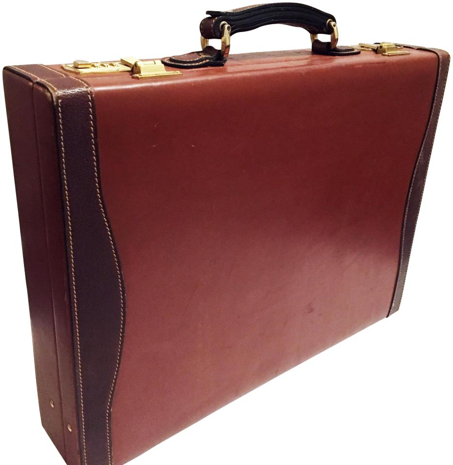 ae68745d164c Mark Cross Vintage Made In Italy Briefcase Unisex Brown Leather Laptop Bag