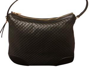 a72202150667 Gucci Signature Monogram with Web Handles & Metallic Navy Coated ...