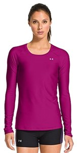 Under Armour Long Sleeve Magenta HeatGear