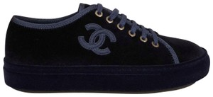 Chanel Ballerina Ballet Trainer Sneaker Flat blue Athletic