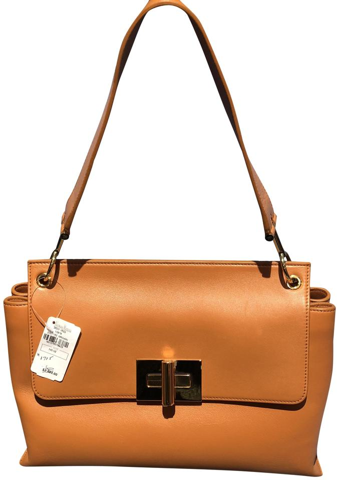 0f4f851bb6ca Tom Ford Natalia Brown (Whisky) Leather Shoulder Bag - Tradesy