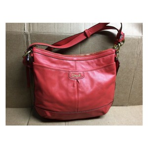 Coach F19726 Park Leather Orange Hobo Bag