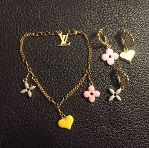 Louis Vuitton Louis Vuitton Sweet Bracelet & Earrings!