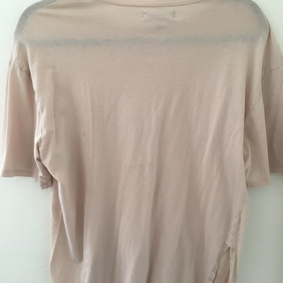 """b7ead0c6 PacSun Tan and Red Graphic """"los Angeles"""" Tee Shirt Size 8 (M) - Tradesy"""