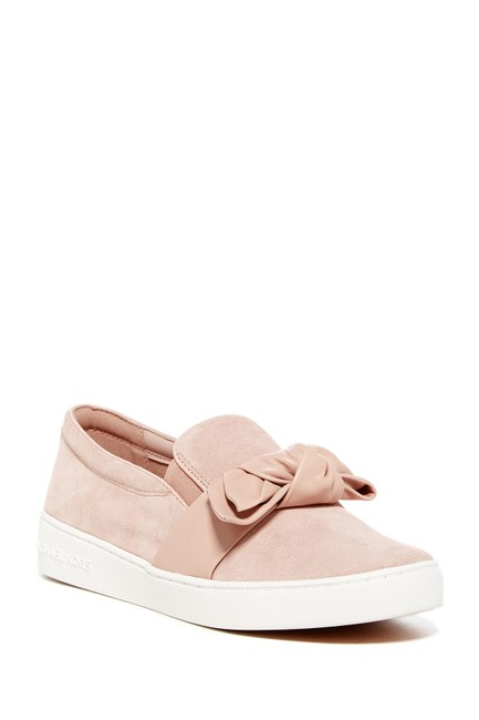 Item - Pink Black Suede Slip Sneakers Size US 6 Regular (M, B)