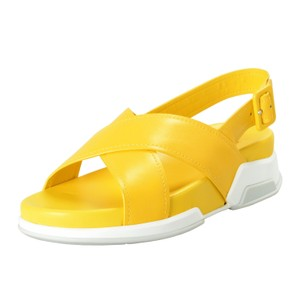 Prada Bright Yellow Sandals