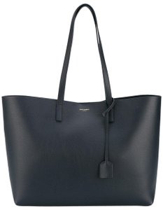Saint Laurent Shopping Pouch Neverfull Ysl Tote in Navy