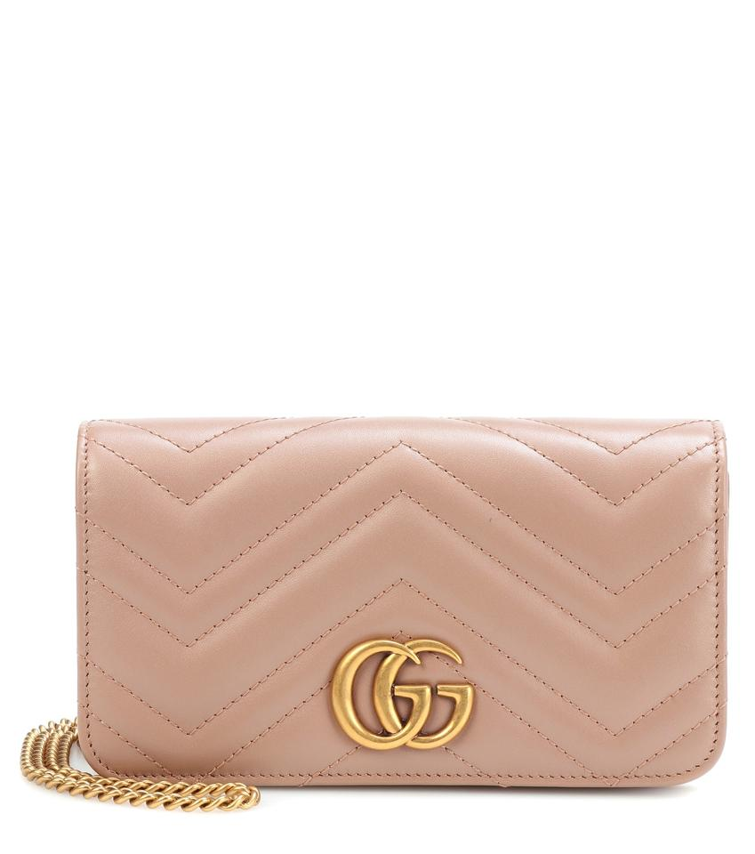 Gucci Gg Marmont Marmont Double G Marmont Chain Marmont Quilted Cross Body  Bag Image 0 ... 966f93711bbfb