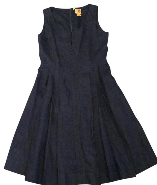 Preload https://img-static.tradesy.com/item/23123184/tory-burch-navy-blue-amalia-mid-length-workoffice-dress-size-8-m-0-1-650-650.jpg
