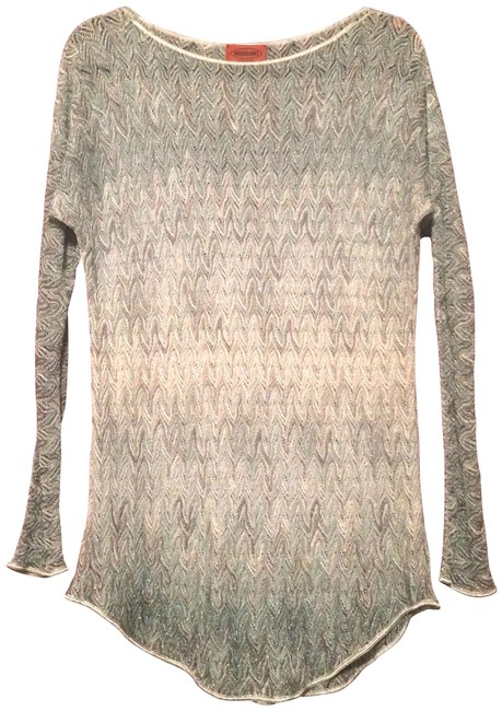 Missoni Sheer Light-weight Summer Sparkle Tunic Image 0