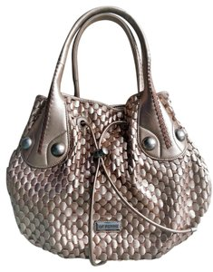 Gianfranco Ferre Satchel in Rose Gold