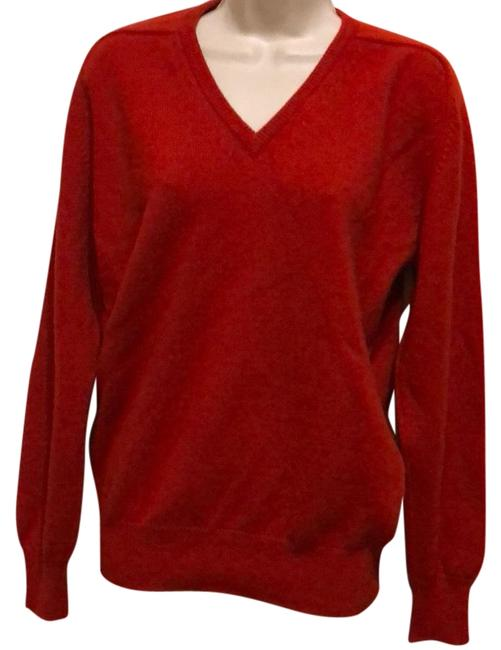 Preload https://img-static.tradesy.com/item/23123244/v-neck-cashmere-long-sleeve-red-sweater-0-1-650-650.jpg