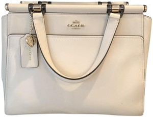 Coach Selena Grace X Selena Selena Grace Satchel in White cd281bcd13373