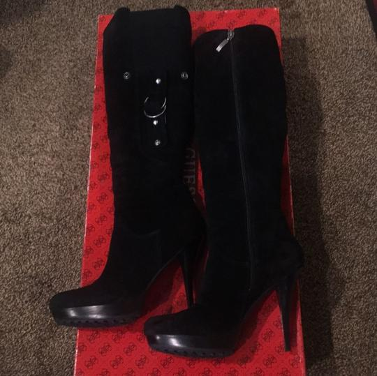 Guess Black Boots Image 6