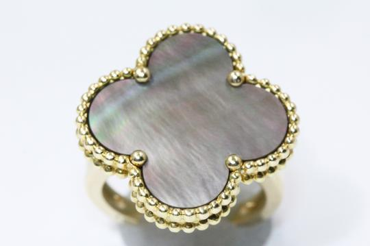 Van Cleef & Arpels Magic Alhambra ring Yellow gold, Mother-of-pearl Image 3