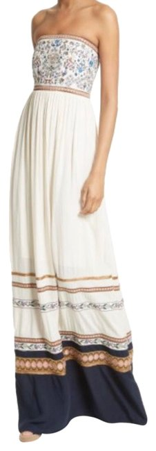 Item - Multicolor Quyen Embroidered Long Casual Maxi Dress Size 12 (L)